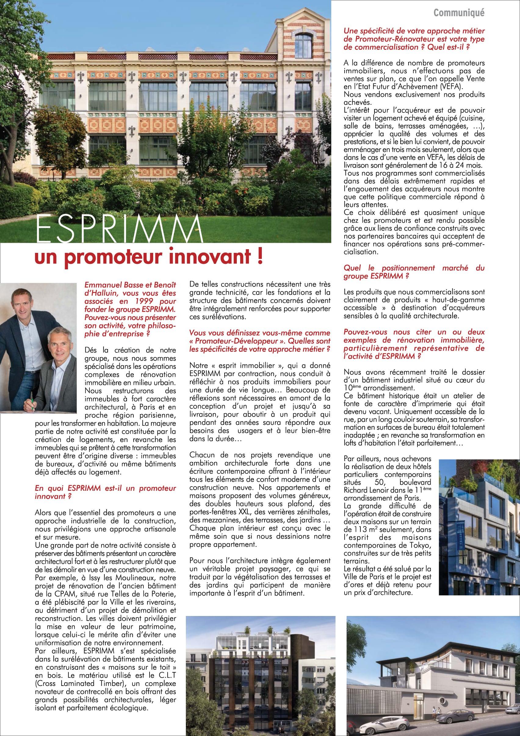Dialogues 92 - Magazine - Novembre 2015 - article Esprimm