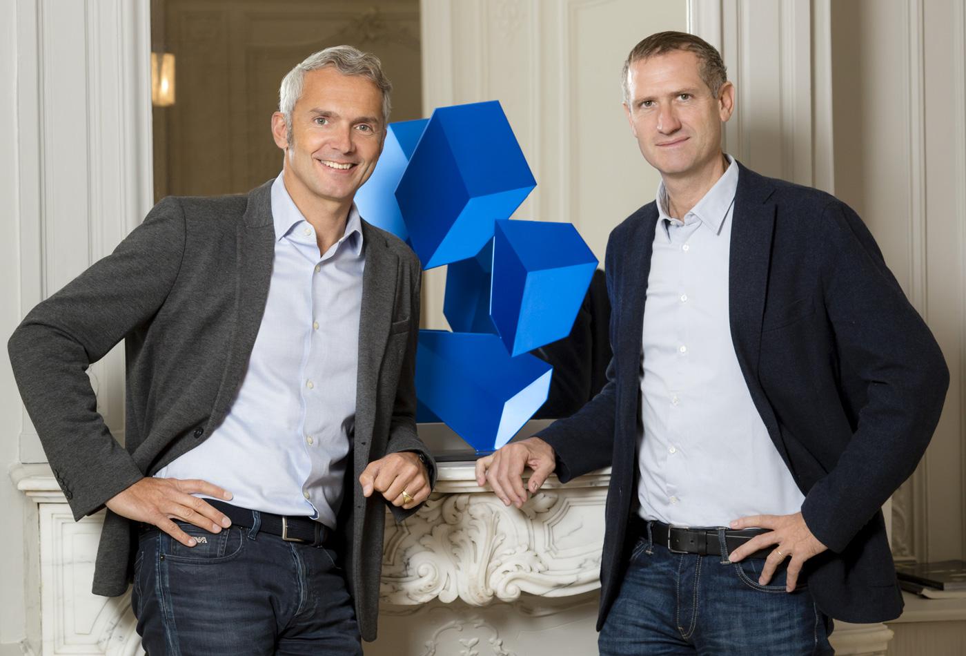 Emmanuel Basse et Benoît d'Halluin, bureaux Esprimm