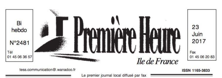 Logo Journal Première Heure