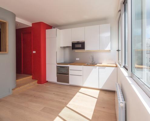 Studio renové par Esprimm rue Charcot, Paris 13