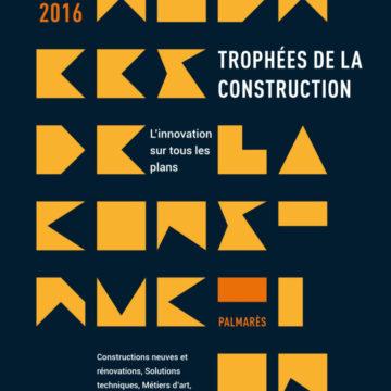 couverture Trophées de la Construction Batiactu 2016