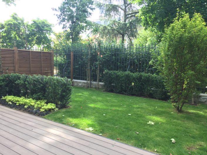 jardins de logements du Macassar, Esprimm, Issy-les-Moulineaux