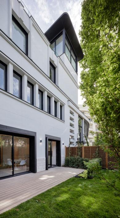 14 rue Telles de la Poterie, 92130 Issy-les-Moulineaux, Le Macassar, Esprimm, façade