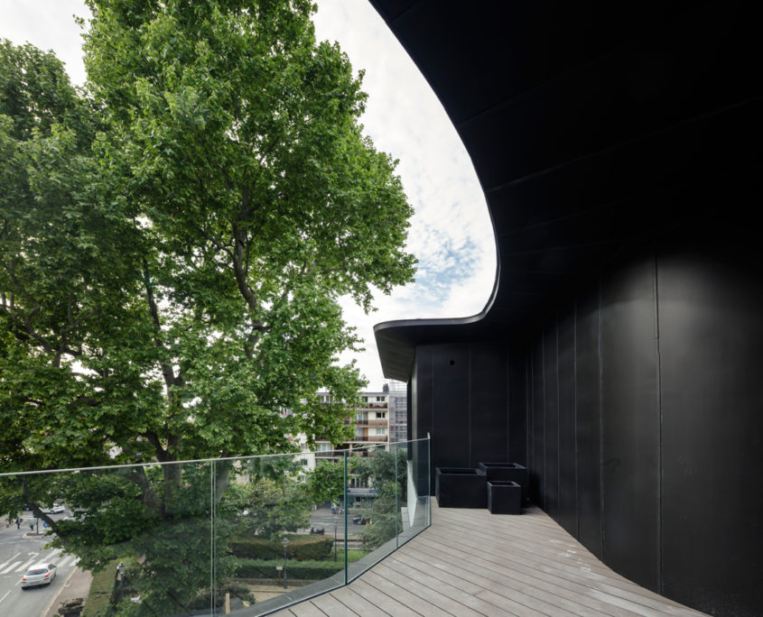 14 rue Telles de la Poterie, 92130 Issy-les-Moulineaux, Le Macassar, Esprimm, terrasse