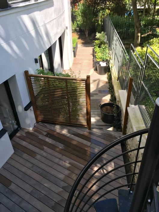 14 rue Telles de la Poterie, 92130 Issy-les-Moulineaux, Le Macassar, Esprimm, jardins et terrasses