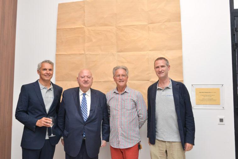 inauguration Macassar Esprimm, présentation oeuvre artiste Christian Renonciat